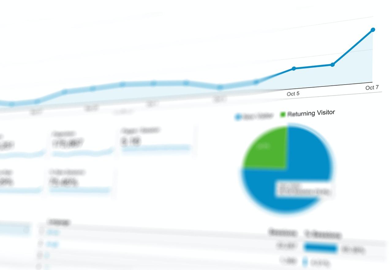 Search Engine Optimization Google Analytics Chart